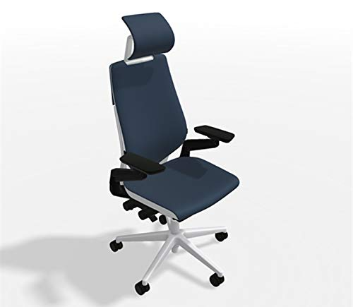 Steelcase Gesture Office Desk Chair With Headrest Cogent Connect