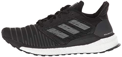 Boost Adidasbc0674 Black grey Solar white Femme 2898 5gqAw0