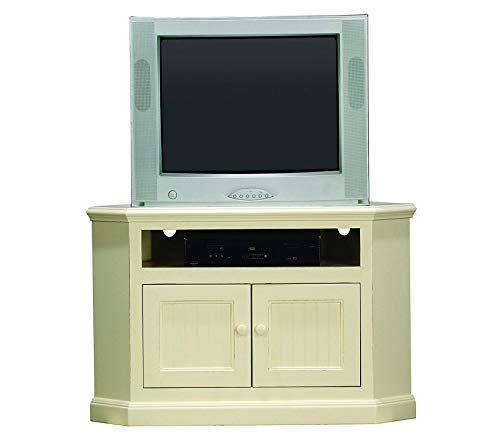 Wood & Style Furniture Coastal Corner Entertainment Console 42
