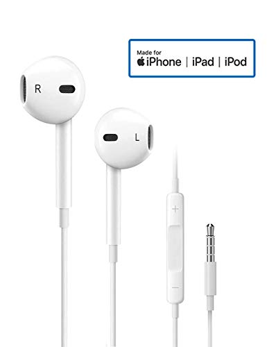 Earbuds/Earphones/Headphones, Premium in-Ear Wired Earphones with Remote & Mic Compatible with All 3.5MM Audio Devices MP3 MP4 MP5-2 Packs