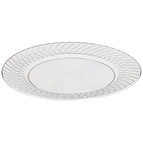 Memberu0027s Mark Clear Plastic Plates 6.25  (110 ct.)  sc 1 st  Amazon.com & Small Disposable Plates: Amazon.com