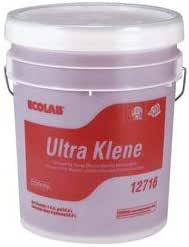 ECOLAB Ultra Klene Ware Washing Dish Washer Detergent - 5 Gallon