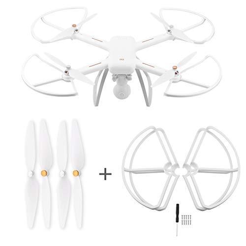 TwoCC Drones y accesorios,4 hélices Cubierta protectora Protector ...