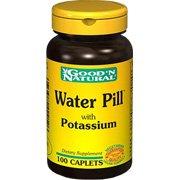 Pilule de l'eau - contribue à soutenir la balance des fluides, 100 comprimés, (Good'n naturel)
