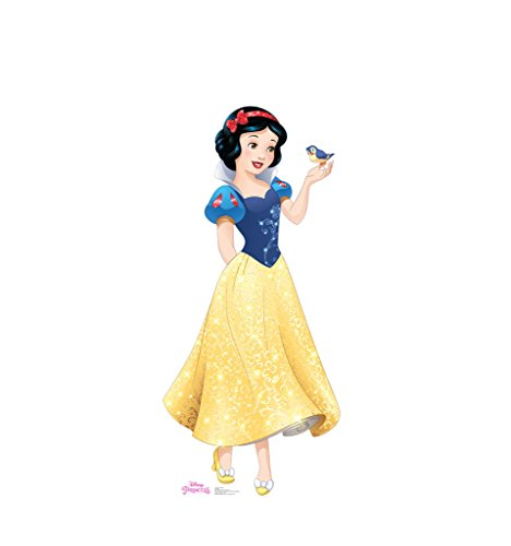 Snow White - Disney Princess Friendship Adventures - Advanced Graphics Life Size Cardboard Standup (Snow Birthday White)
