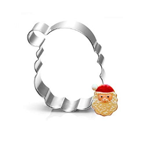 1 piece Fashion Stainless Steel Cookie Mold Cute Cartoon Biscuit Pastry Cookie Christmas Cake Decor Mold