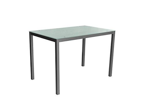 Mirror-110-blanca-Mesa-metalica-y-cristal-blanco-para-comedor-cocina-balcon-terraza-interior-habitacion-juvenil