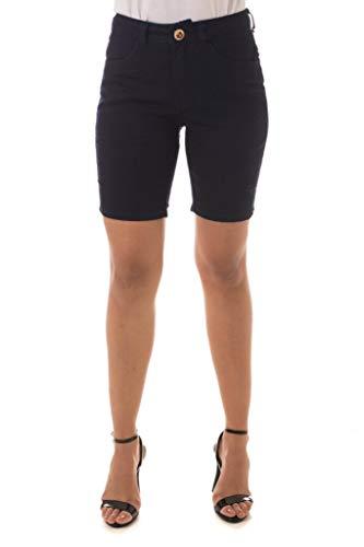 Shorts Jeans Osmoze Mid Rise Middle Azul 38