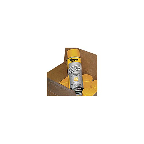 Meyer Sno Flo Paint - Yellow, 12 Cans, Model# 08677 by Meyer