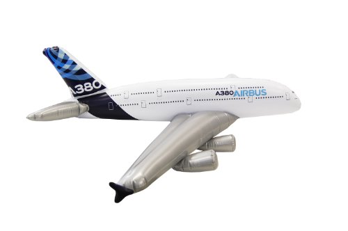 Aufblasbares Flugzeugmodell Airbus A380 House Colour