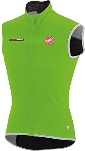 Castelli Mens Fawesome 2 Cycling Vest - C14514 (Sprint Green - 3XL) ()