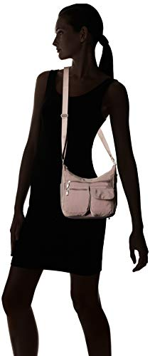 Baggallini Everywhere Crossbody Bag - Lightweight, Water-Resistant Travel Purse With Multiple Pockets and RFID-Protected Wristlet