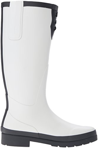 Tretorn Womens Lacey Rain Boot Winter White/Black L4rxR