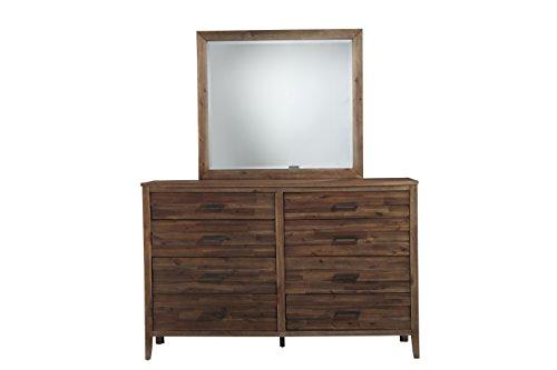 Standard Furniture 98869 Cresswell 8 Drawer Dresser, Brown