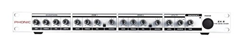 Phonic 1 Rack Unit 2-Channel Zone Mixer ZX2