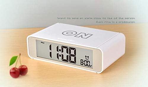 Digital Despertador Reloj De La Mesa Flip Reloj De Radio Reloj De ...