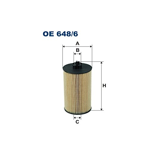 Filtron OE648//6 Bloque de Motor