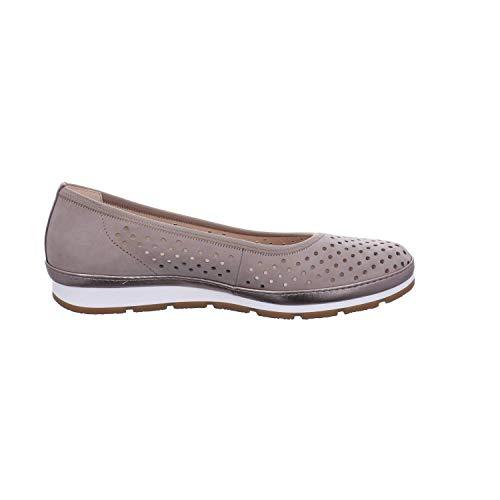 luxor Marron visone Sport Ballerines Shoes 33 Femme Gabor Comfort gel BaFqv0WwP