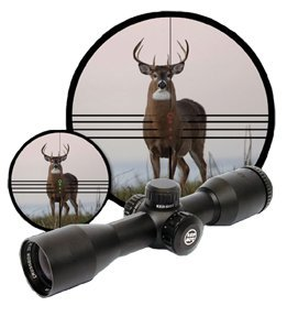 - Red Hot® 3x32 mm Illuminated Multi - reticle Scope