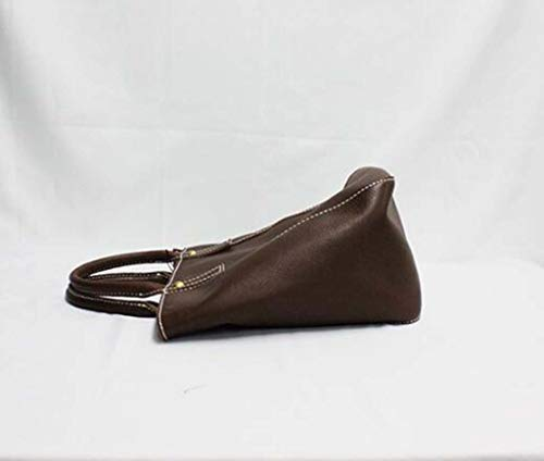 Sac Incliné Fourre La Femme Cuir De shoulder One Top Couche Brown Vache tout black Véritable Vintage 1q8FPwc