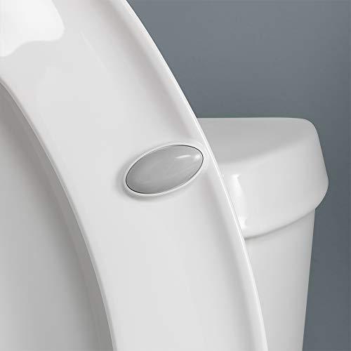 Bemis 1800EC 346 Plastic Elongated Toilet Seat with Easy Clean & Change Hinges Biscuit/Linen by Bemis (Image #3)