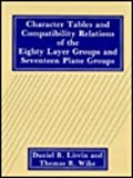 Character Tables and Compatibility Relations of the Eighty Layer Groups and Seventeen Plane Groups, Litvin, D. B. and Wike, T. R., 0306439174