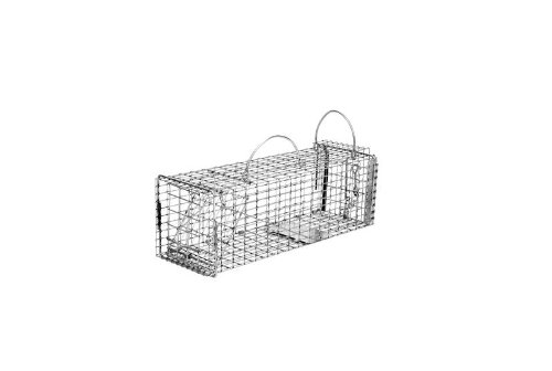 Tomahawk Model 602 Rigid Trap With Easy Release Door Chipmunk, Gopher, Rat Size 16x5x5 - Tomahawk Model