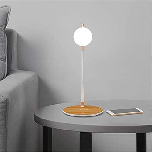 ASHLGQB Qi Caricabatterie Wireless Basamento della Luce di Notte del LED Desk Lamp Luminaria Chargeur 2In1 per iPhone 11 PRO Max X XS 8 più Compatibile per Sansumg S10 note10 S8