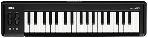 Korg microKEY2 – 37 – Key iOS-Powerable USB MIDI Controller with Pedal Input