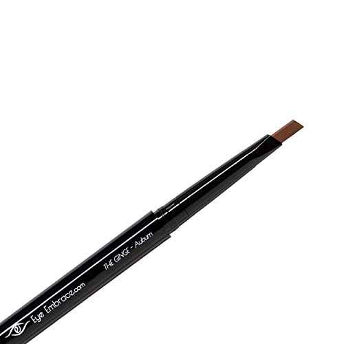 Eye Embrace The Ginge: Auburn Red Eyebrow Pencil (Waterproof, Double-Ended Automatic Angled Tip & Spoolie Brush, Cruelty…