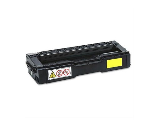 Toner Eagle Compatible Yellow Toner Cartridge for use in Ricoh SP C250 C250DN C250SF C261SFNw. Replaces Part # (C250 Yellow Toner)