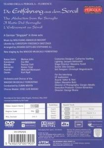 Mozart, Wolfgang Amadeus - Die Entführung aus dem Serail Alemania DVD: Amazon.es: Markus John (Bassa Selim), Rainer Trost (Belmonte), Kurt Rydl (Osmin), Mehrzad Montazeri (Pedrillo), Patrizia Ciofi (Blonde), Eva Mei (Konstanze), Mozart,