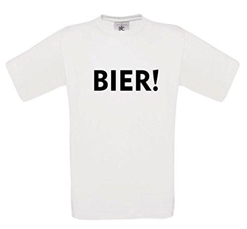 T-Shirt mit der Aufschrift Bier!