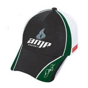Dale Earnhardt Jr #88 AMP Green White Pit Cap Hat Chase (Amp Mesh Hat)