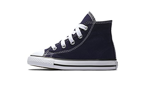 Converse Toddler's Chuck Taylor All Star Hi Top, Midnight Indigo Size 9C](Toddler Converse Shoes Size 9)