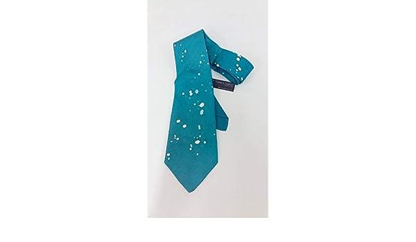 Corbata de seda pintada a mano- Corbata azul- corbata para bodas ...