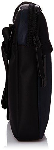 Calvin Klein Jeans BO J5IJ500251 Herren Umhängetaschen 20x26x4 cm (B x H x T) Mehrfarbig - Multicolore (Black/Blue Wing Teal)