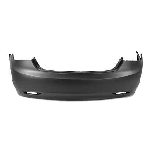 MBI AUTO - Painted to Match, Rear Bumper Cover for 2011-2013 Hyundai Sonata 11-13, HY1100175