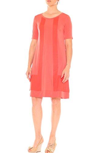 Kleid Paris Paris Arancione Fashion Damen Fashion wc8gIqfFF