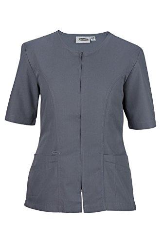 Smock Housekeeping (Ed Garments Women'S Jewel Neck Housekeeping Tunic-Pewter-3Xl)