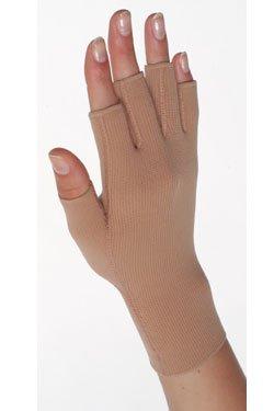 Juzo Expert 3021ACFS Gauntlet w/Finger Stubs 18-21mmHg (Beige-4)