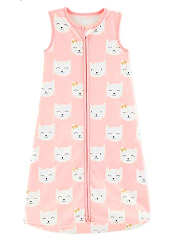 - Carter's Baby Girls Kitty Sleep Bag Size Medium New in Original Package. Pink