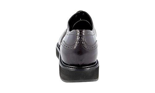 X6o Delle Prada Business Pelle 1e526g In F0170 Scarpe Brogue Pieno Donne Di 1OwxdSq