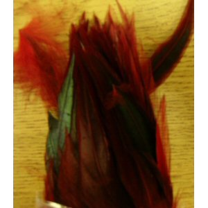 Chinese Rooster Saddles - Strung Color: Red
