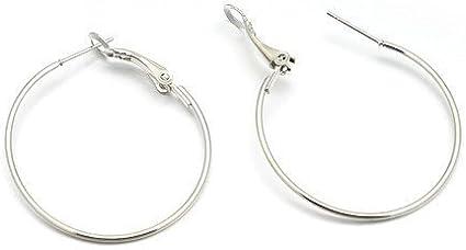 10 Earring Hooks 35mm