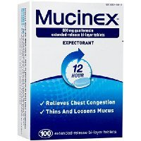 Mucinex 12-Hour Chest Congestion Expectorant Tablets, 600mg 100 Count Sold By HERO24HOUR Thank You