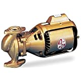Bell & Gossett - HV BNFI - 1/6 HP Low Lead Bronze 3-Piece Oil-Lubricated Booster Hot Water Circulator Pump
