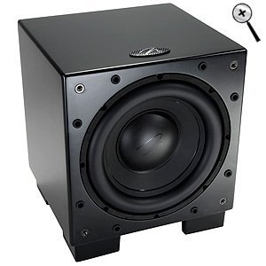MartinLogan Dynamo 700 10-inch Wireless Ready Subwoofer (Single, Black) (Discontinued by Manufacturer) by MartinLogan
