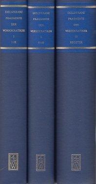 Die Fragmente Der Vorsokratiker: Mit Nachtrag Von Walther Kranz Band 1 (Ancient Greek and German Edition)