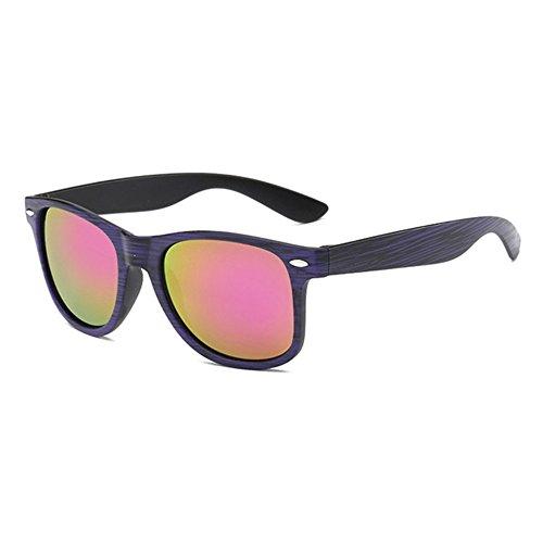 Aoligei Tidal lunettes de soleil lunettes de film Audrey rétro en bois modèle couleur Boutique lunettes de soleil D